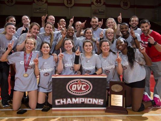 APSU volleyball