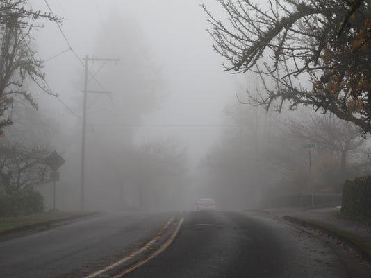 fog in Salem