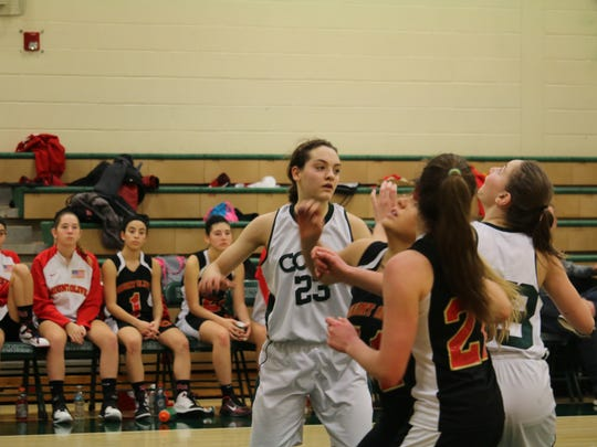Sophomore Taylor Smith (23) and the Kinnelon girls' basketball team look to continue their momentum in 2018.