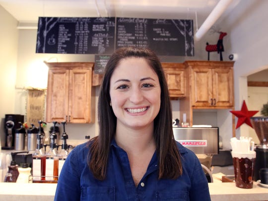 Jessie Puzach, the owner of Birch & Banyan Coffee in Hartland, closed her shop a week after offering carryout and curbside-only.