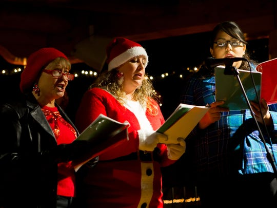 Christmas Carols and Luminarias at the Plaza in Old Mesilla takes place Sunday, Dec. 24.