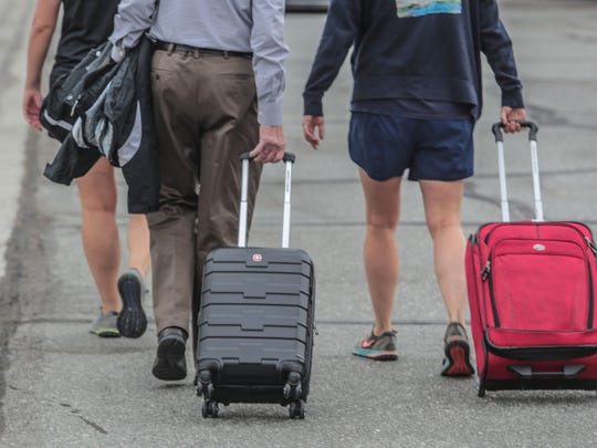 Palm Springs International Airport passengers may soon find it legal to have legal amounts of marijuana in their luggage.