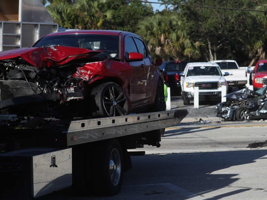 A three-vehicle crash on Fowler Street at the intersection of Canal Street in Fort Myers closed Fowler this morning. It has since reopened. It is unknown if there were injuries.