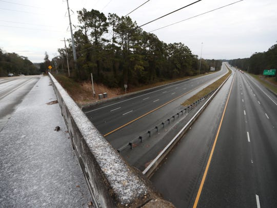 Interstate 10 is shut down between the Thomasville