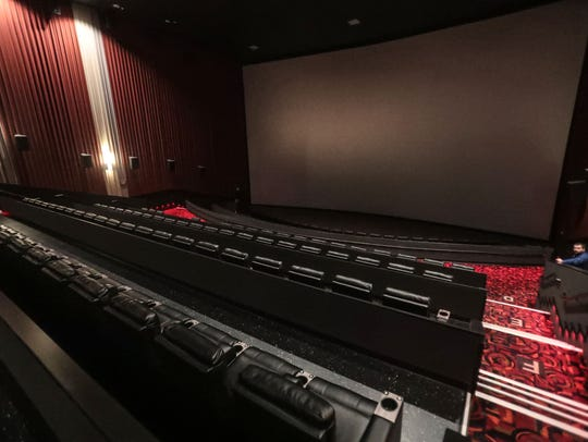 Cinemark recently renovated each of the 12 auditoriums at the Century @ The River and XD cinema complex in Rancho Mirage, adding reclining seats in each of the  15 auditoriums along with technological upgrades.