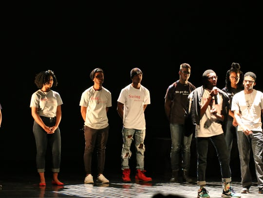 The Haraka Writers from Purdue's Black Cultural Center,