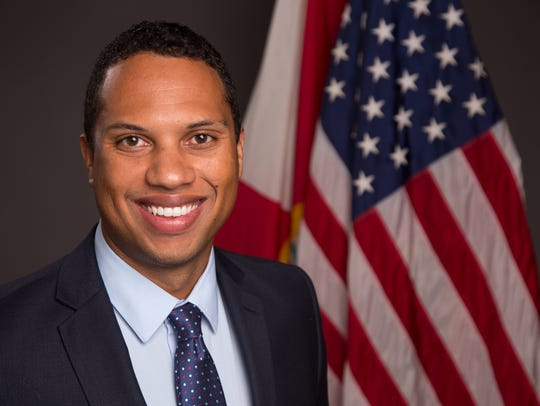 Cordelle Rolle, a Republican candidate for Brevard