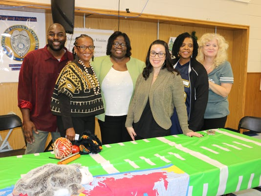 Plainfield families engaged at Family Fun Night PHOTO CAPTION