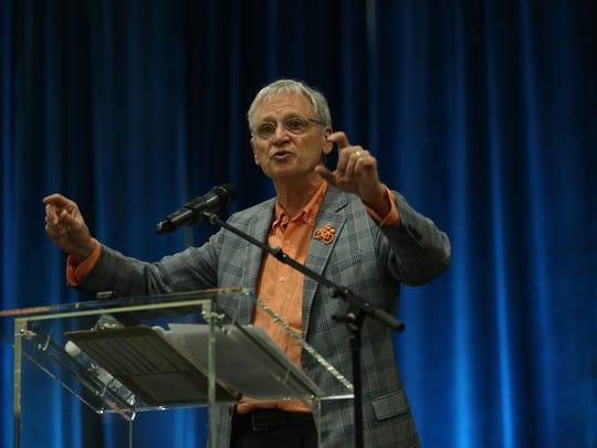 U.S. Rep. Earl Blumenauer, D-Ore., delivers a keynote
