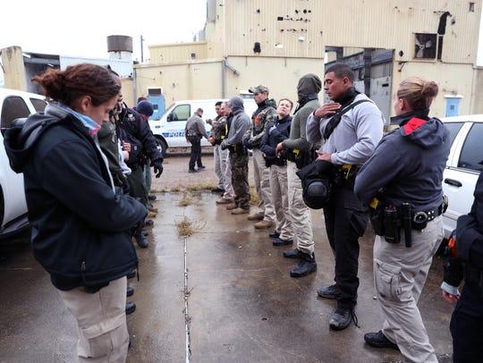 Corpus Christi Police Department cadets prepare for