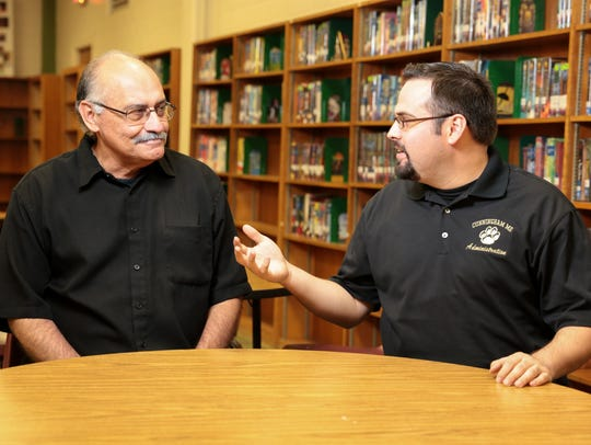 Danny Noyola Sr. and Jr. (left to right)