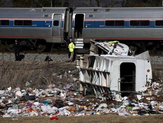 AP GOP TRAIN ACCIDENT A USA VA