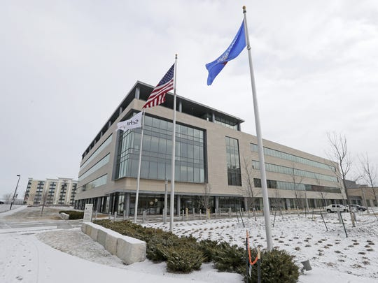 Schreiber Foods headquarters at 400 Washington Street in downtown Green Bay. Early planning for the demolition of Washington Commons was funded with a U.S. Environmental Protection Agency brownfields grant.