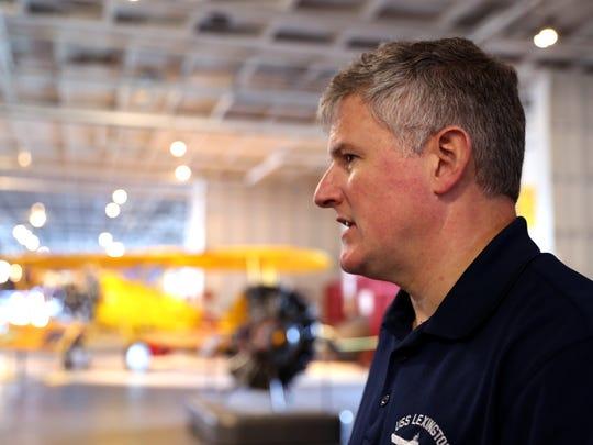 Ret. Capt. Steve Banta is the new executive director