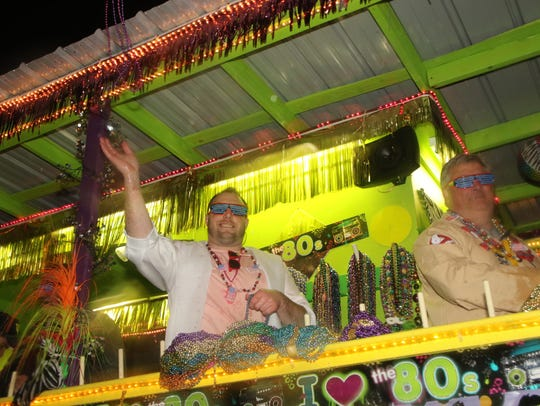 Krewe of Janus Mardi Gras Parade is Saturday.