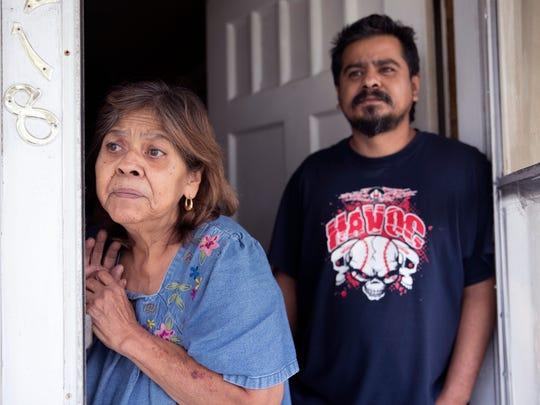 Rosa Centeno (left) and Trinidad Centeno live in the