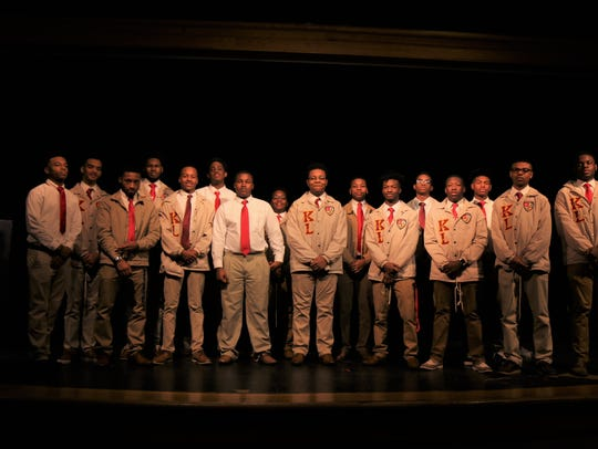 Students participating in the Kappa League, a program