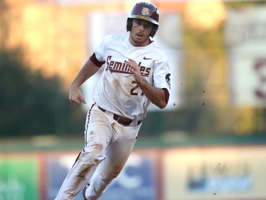 Second baseman Rafael Bournigal's three-run double proved crucial in Florida State's 7-2 win over Xavier.