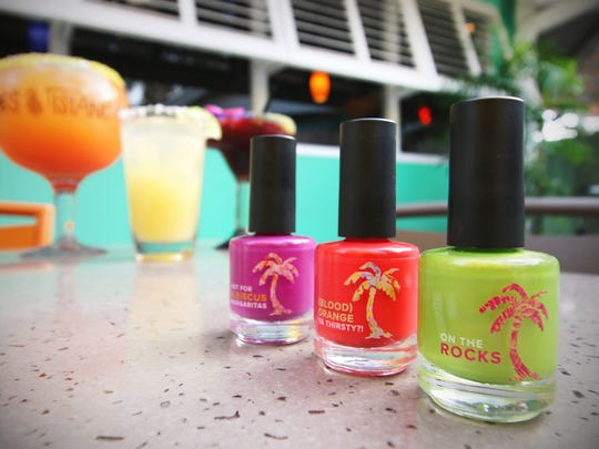 This National Margarita Day, Bahama Breeze is making it possible for guests to sip – and wear – their favorite margarita flavors. In addition to bringing back their $2.22 Classic Margarita offer, the Caribbean restaurant is offering a collection of margarita-inspired nail polish colors to celebrate the holiday. The collection features three colors: Hot for Hibiscus; (Blood) Orange Ya Thirsty?!; and On the Rocks, a lime color.