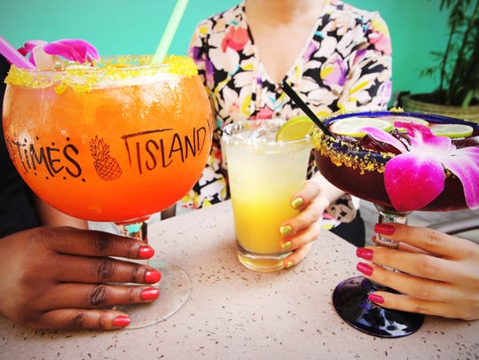 The first 100 people to walk through the door of Bahama Breeze on National Margarita Day will receive one of three bottles of Margarita-inspired nail polish that match the colors of some of the restaurant's most popular cocktails.