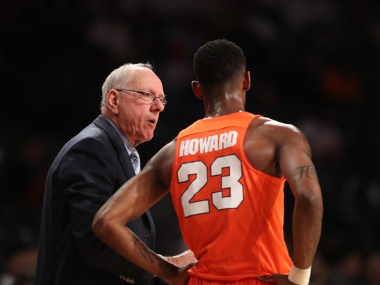 Jim Boeheim has needed to rely heavily on Frank Howard
