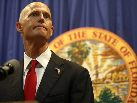 "GOP-side Florida Gov. Rick Scott is the clear favorite, though he is facing a challenge from perennial candidate Roque ""Rocky"" De La Fuente."