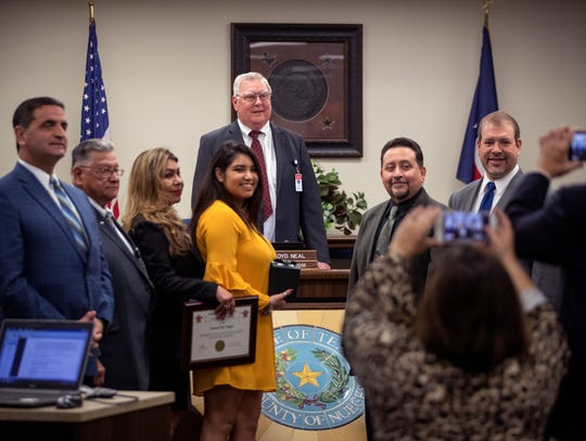 Nueces County Judge Loyd Neal oversaw his first to