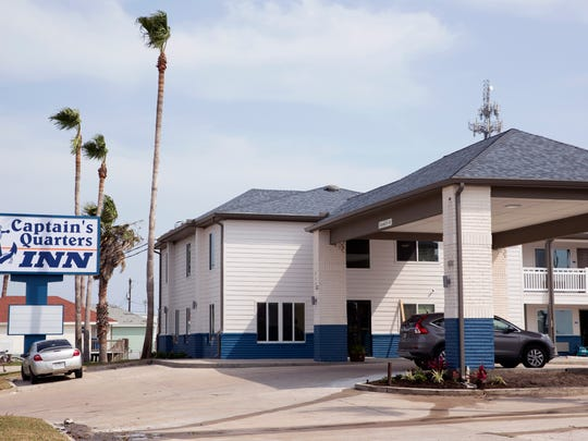 The Captain's Quarters Inn at 234 W. Cotter Ave. in Port Aransas is open and is just a short walk from the marina and other shops downtown.