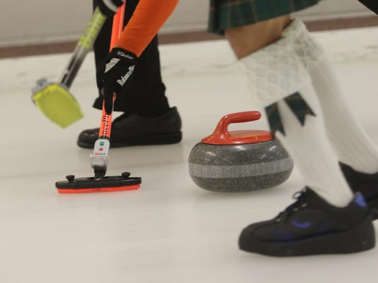 Members and fellow curling enthusiasts at the Plainfield Curling Club participated in a weekend tournament socializing with friends while sharing their love of curling.