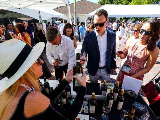 The 10th annual SWFL Wine & Food Fest was held Saturday, March 3 at Quail West Golf & Country Club, 5950 Burnham Road, North Naples. There was a grand tasting to kick off the event then an auction that followed to really raise the big bucks.