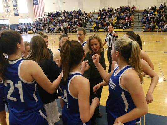 Millbrook vs. Haldane Girls Basketball Gallery