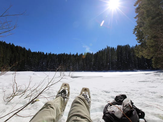 Snowshoeing can be a fantastic way to get out and see some natural splendor during the winter months.