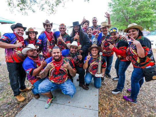 Members of the Southwest All Terrain Club celebrate