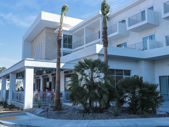 Hotel Paseo, a three-story luxury boutique hotel on Larkspur Lane, opened last year and is currently the only hotel in the El Paseo shopping district in Palm Desert.