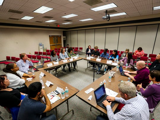 The News-Press editorial board met with 10 local high