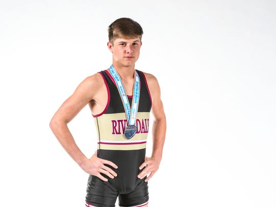 Winter All-Area Athletes portraits 