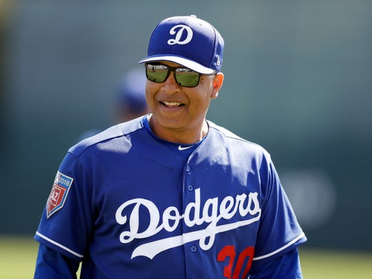 Dave Roberts has proven to be a top manager, leading the Dodgers to two division titles and last year's World Series.