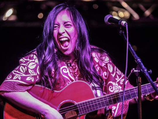 Giselle Woo and The Night Owls perform at the Tachevah