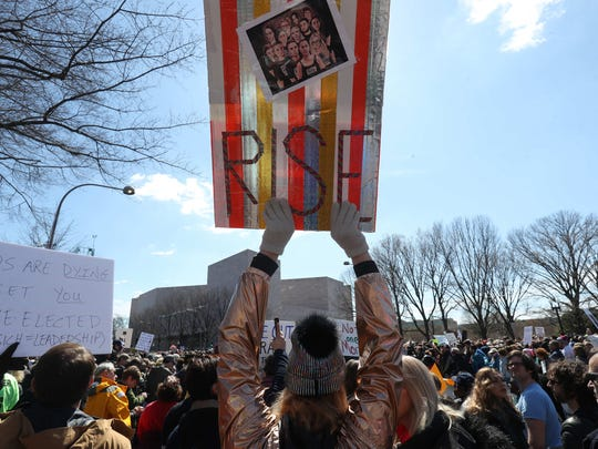 Images from the March For Our Lives rally in Washington