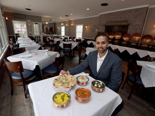 Jay Patel, the owner of Indi Q, a new Indian restaurant