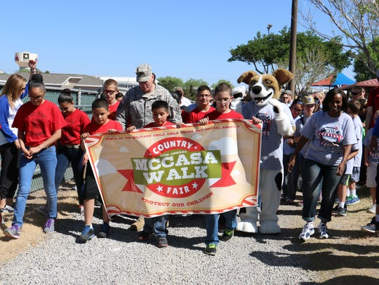 The 14th annual MCCASA Walk will be April 14 at Biggs