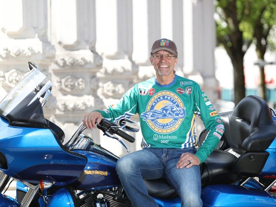 Kyle Petty will lead his charity ride for the 24th