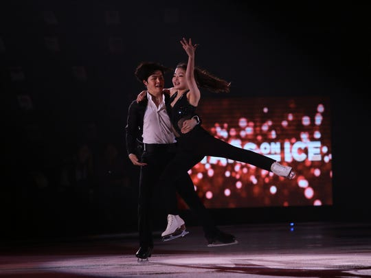 Olympic stars Maia and Alex Shibutani perform during