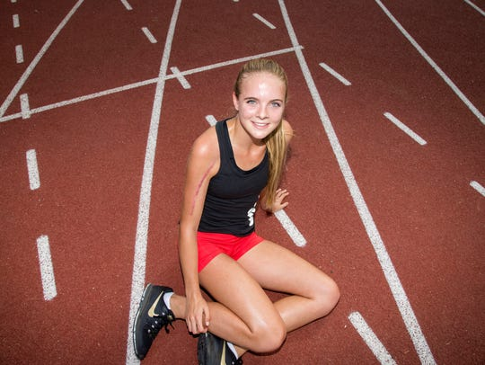 Morgan Foster set the Arizona state girls record in