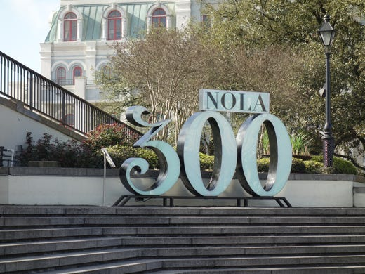 Birthday bash: City of New Orleans turns 300