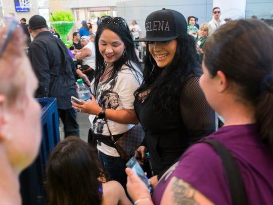 Suzette Quintanilla-Arriaga, Selena's sister, invites