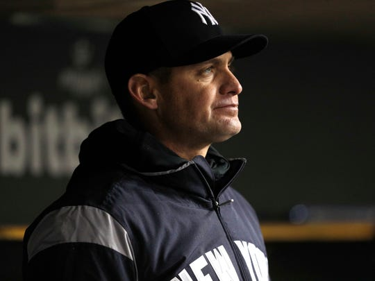 Yankees manager Aaron Boone.