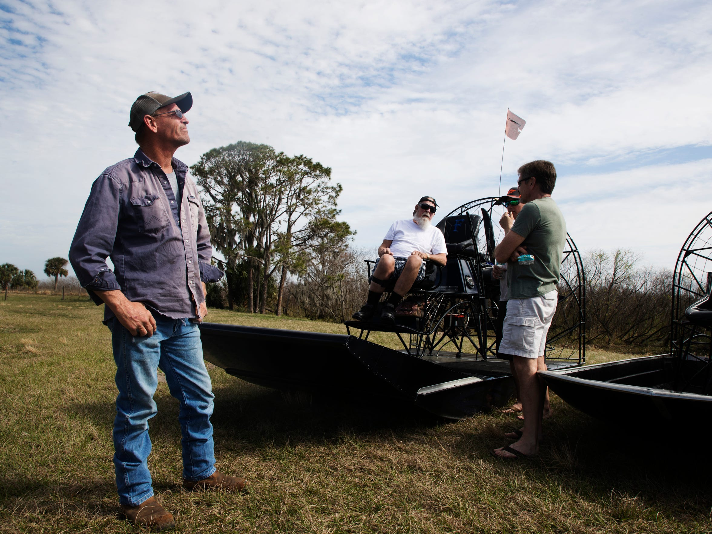 Randy Franey takes his family on an airboat ride on the Kissimmee River in between Lake Toho and Lake Kissimmee. He is a lifelong resident of the area and loves the area.
