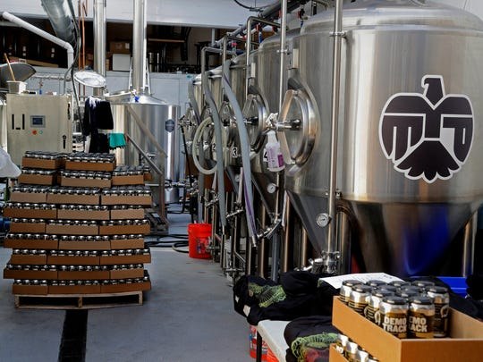 Eagle Park Brewing settled into its seven-barrel brewhouse, adding a canning line in the process, at its Milwaukee facility in 2018.