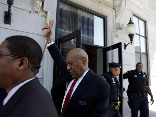 Bill Cosby departs after his sexual assault trial, Thursday, April 26, 2018, at the Montgomery County Courthouse in Norristown, Pa. Cosby was convicted Thursday of drugging and molesting a woman in the first big celebrity trial of the #MeToo era.